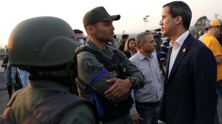 ABD Venezuela'da Darbe Yapmaya Kalktı