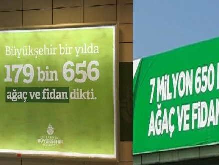AKP'li Belediye Giderken Bile Yalan Söylüyor