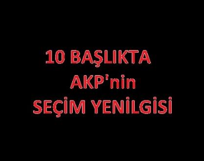 AKP Seçimi Kaybediyor