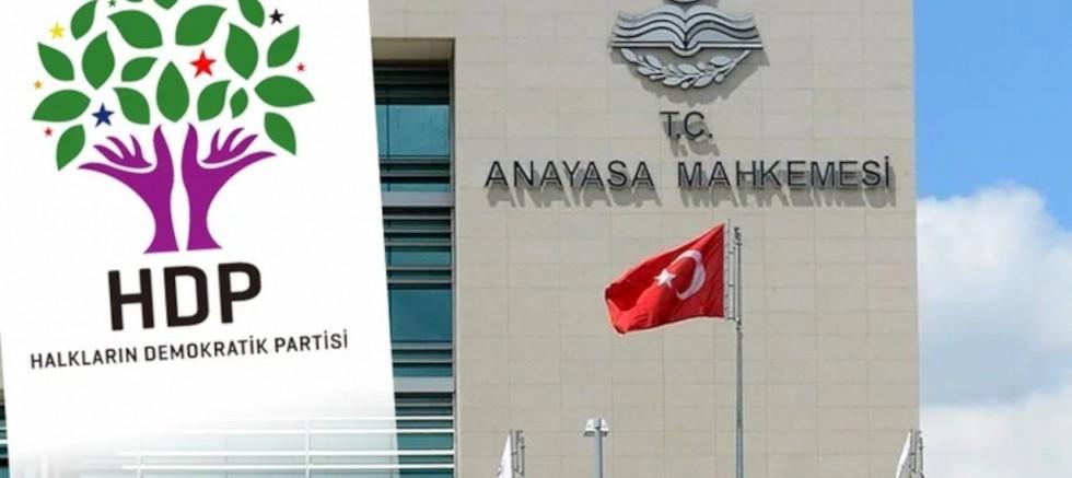 AYM, HDP İddianamesini Reddetti