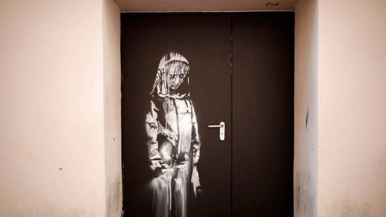Banksy'nin ünlü 'Bataclan' eseri çalındı
