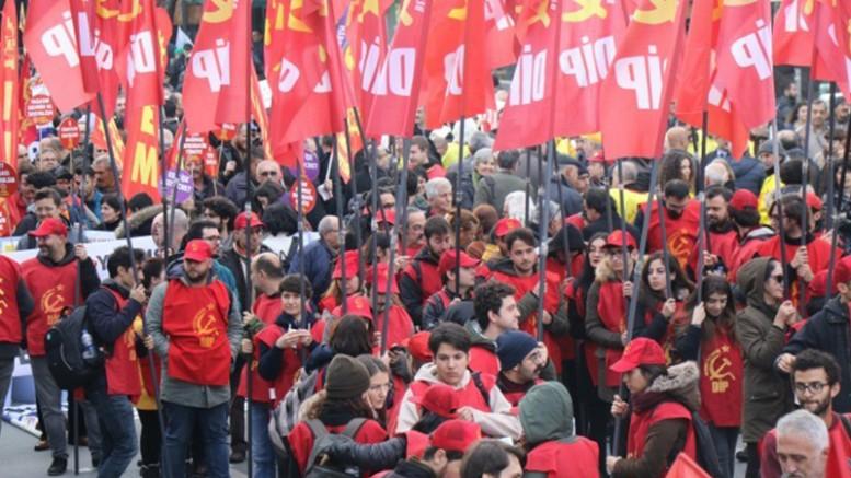 """Emekçiler Bakırköy'den """"İnsanca Yaşamak İstiyoruz"""" Diye Seslendi"""