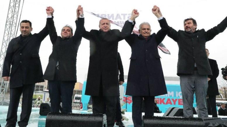 Erdoğan'ın Mitingine Gidene Para Veriliyor İddiası