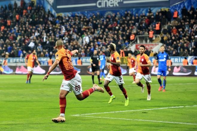 Galatasaray Gole Doymuyor