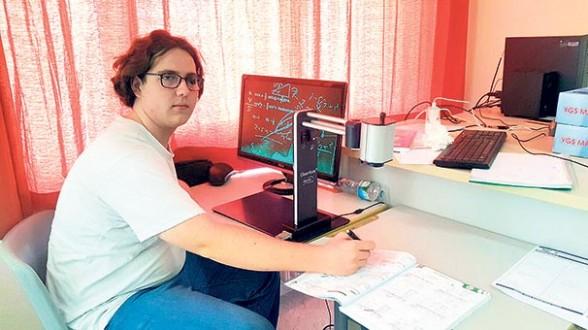 Görme engelli öğrenci ÖSYM'den ek süre istiyor