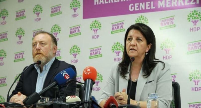 "HDP; ""Cumhurbaşkanı 20 milyon yurttaşı tehdit etti"""