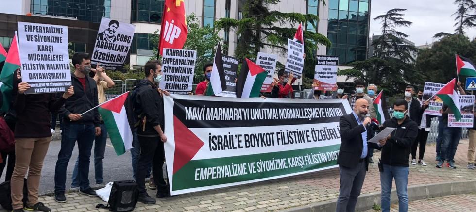 Mavi Marmara'nın Hesabını Devrimciler Sordu
