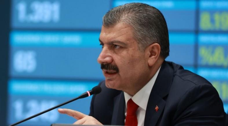 Sağlık Bakanı İtiraf Etti