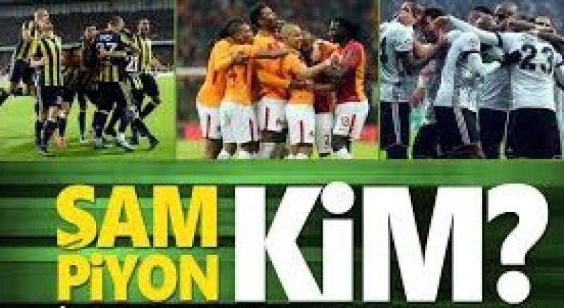 Süper Lig Şampiyonu Kim Olacak?