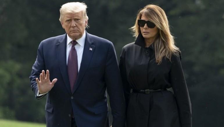 Trump ve eşi Corona'ya Yakalandı