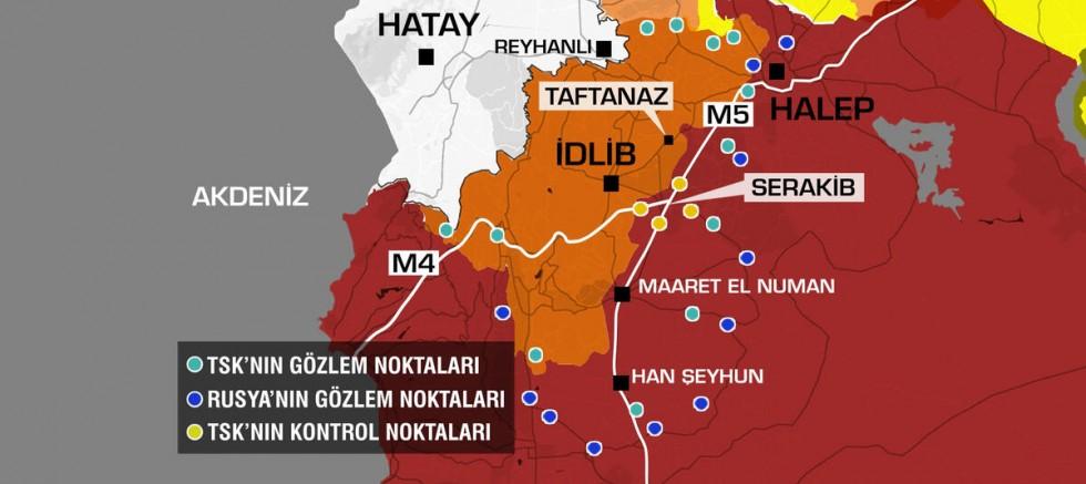 Türkiye, Suriye'nin Kuzeyindeki Gözlem Noktalarını Boşaltıyor