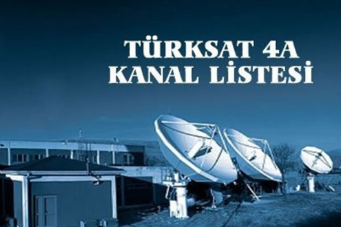 Türksat 4 A Kanal Listesi