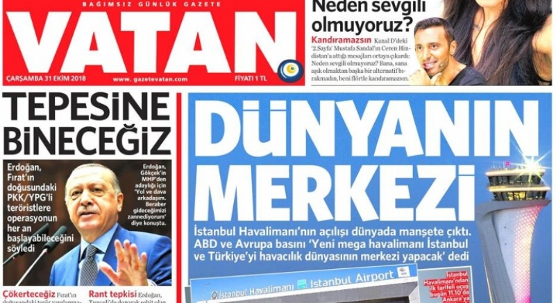 Yandaş Gazete Kapandı